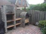 BBQ and oven deal (stone)